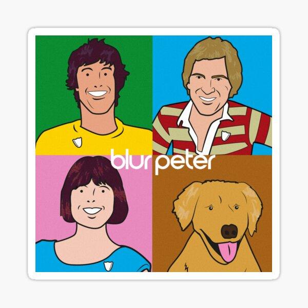 Blur Peter - The eighties Sticker