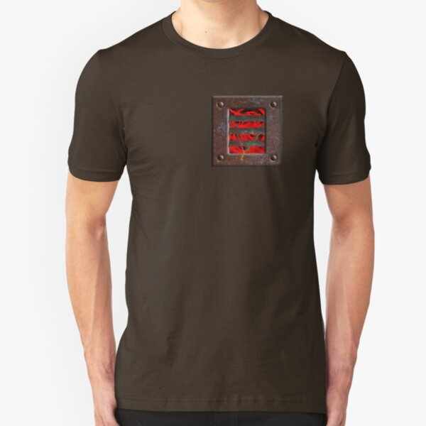 Rusty But Hot Wired Slim Fit T-Shirt