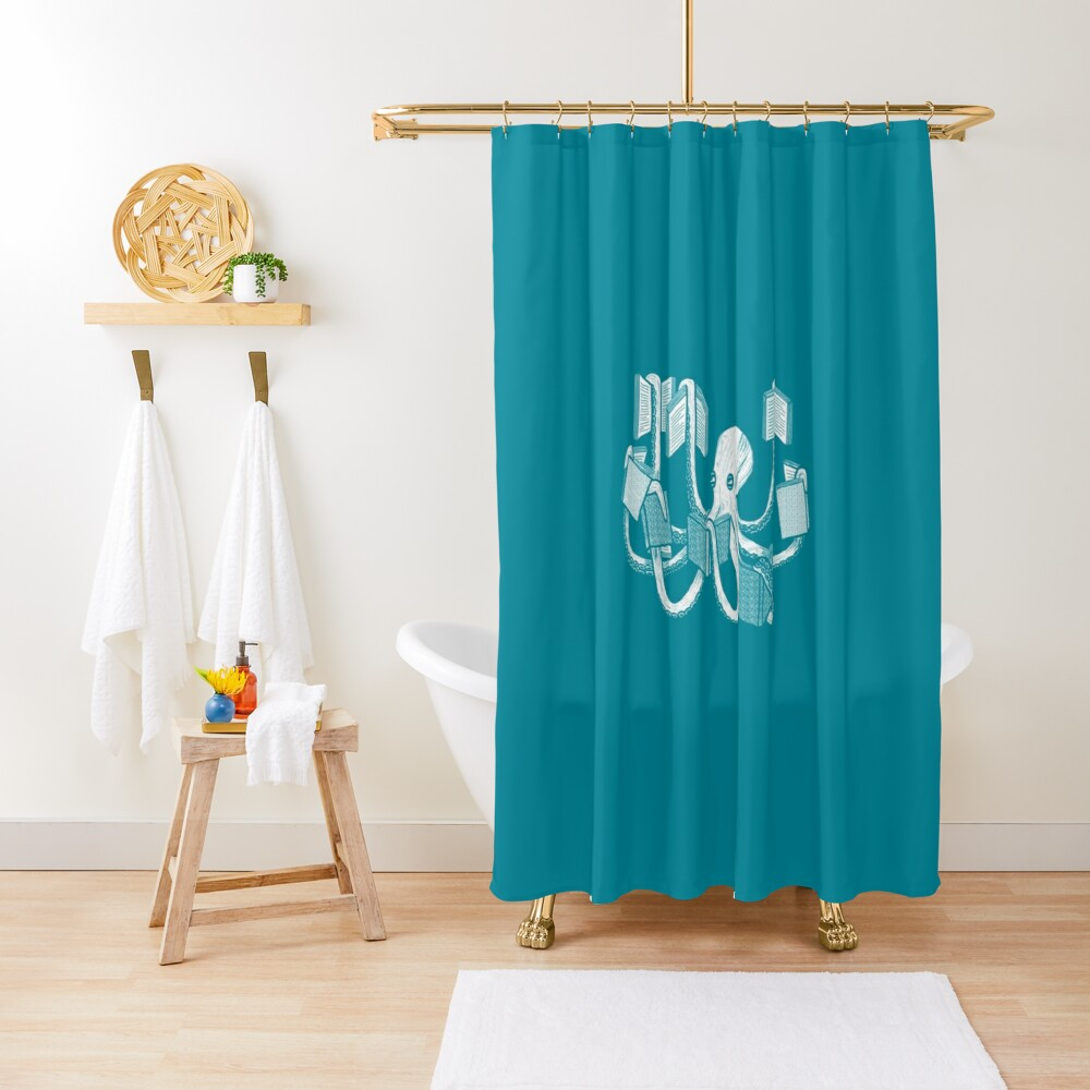 Armed With Knowledge Shower Curtain