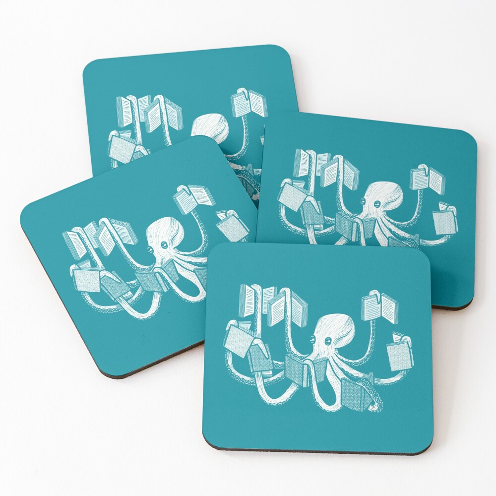 Armed With Knowledge Coasters (Set of 4)