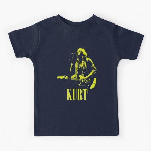 Grunge Rock Legend - Pochoir Jaune T-shirt enfant