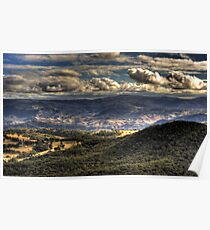 Megalong Valley | Blue Mountains | Australia HDR Poster