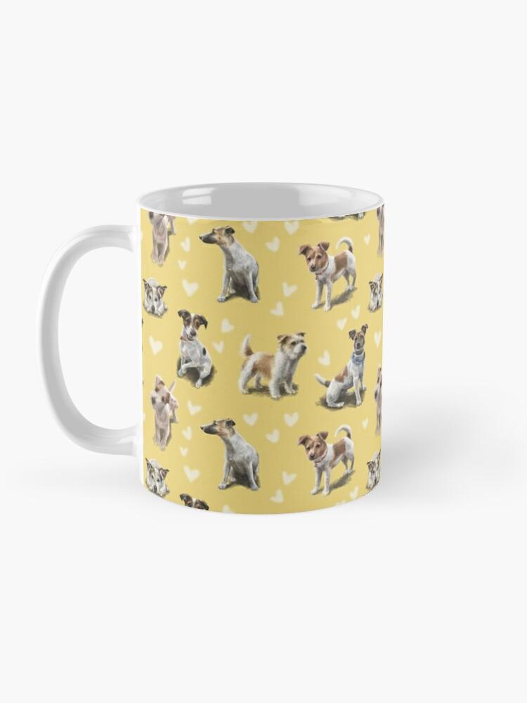 Alternate view of The Jack Russell Terrier Mug