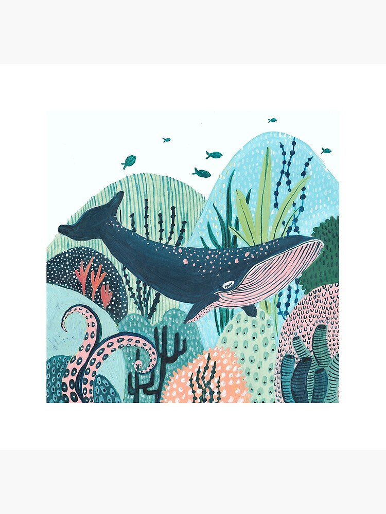 Blue Whale by amberstextiles