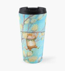 Catkin - cute pussy-willow-pixie Travel Mug
