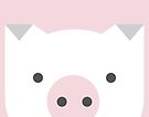 Peek-a-Boo Pig, Soft Pink by Kendra Shedenhelm