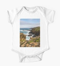 Historical coastline of beautiful cornwall One Piece - Short Sleeve