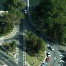 Roundabout the bridge by Murray Swift