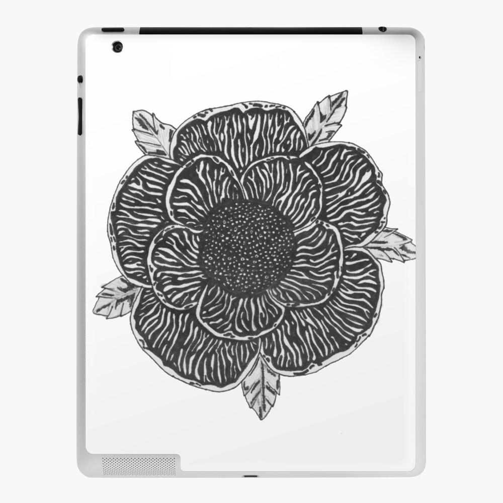 "SWORN IN BAND DEATH CARD FLOWER DESIGN"" iPad Case & Skin by art"