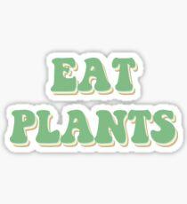 Eat Plants Vegan Sticker Sticker