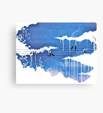 raining clouds Canvas Print