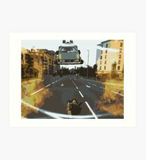 BTTF Back to the Drawing Board Art Print