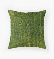 Lost Patterns Throw Pillow
