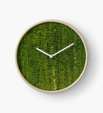 Lost Patterns Clock