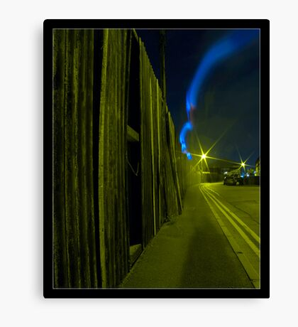Back Street Blur Canvas Print