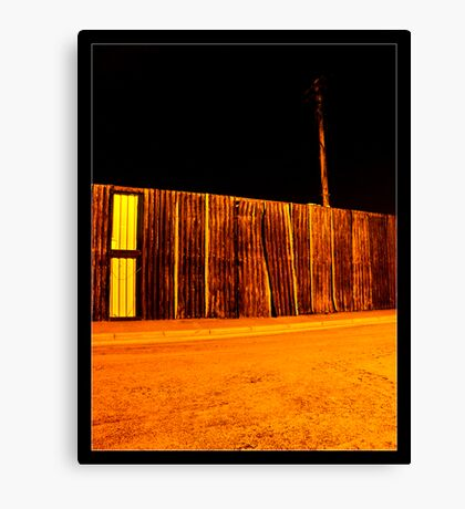Broken Fencing Canvas Print