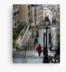 Red Coat Canvas Print