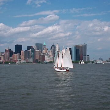 Sailing in New York City by josefpittner