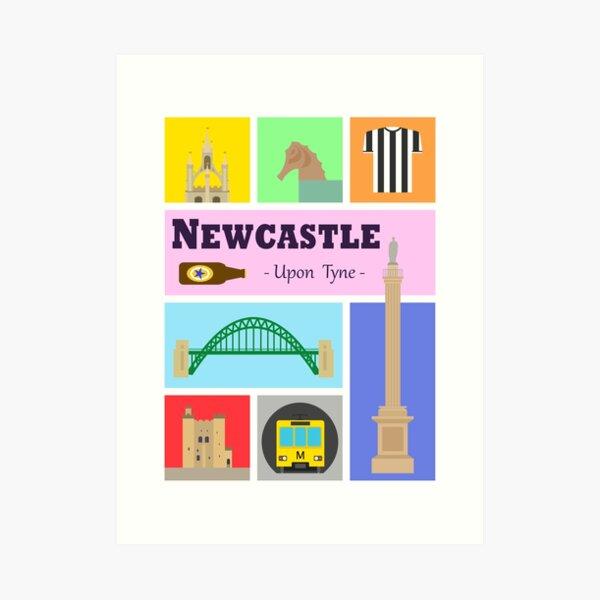 Newcastle upon Tyne Art Print