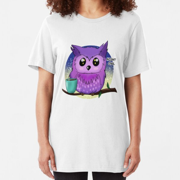 Night owl Slim Fit T-Shirt