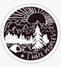 I hate People Sticker