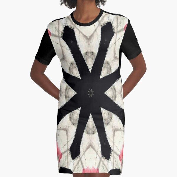 Crossroads Graphic T-Shirt Dress