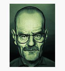 Bryan Cranston Caricature Photographic Print
