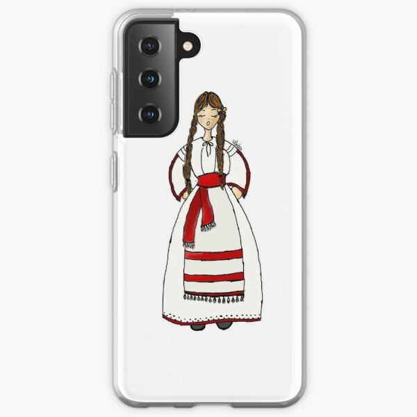 Romanian Traditional Style Samsung Galaxy Soft Case