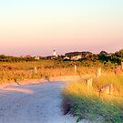 Sun Going Down on Beach Road by Monica M. Scanlan