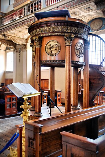 Bible and Pulpit by KarenM