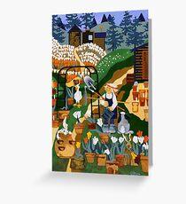 """Tulip Farmer"" greeting card Greeting Card"