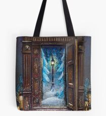 Christmas in Narnia Tote Bag