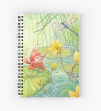Nixie - cute water-pixie Spiral Notebook