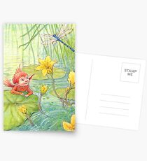 Nixie - cute water-pixie Postcards