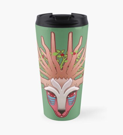Shishigami, The Forest Spirit Travel Mug