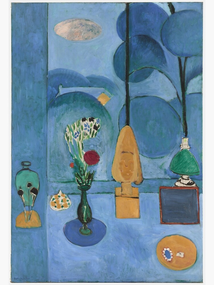 Artist Henri Matisse Poster Print of Painting Moroccan Landscape