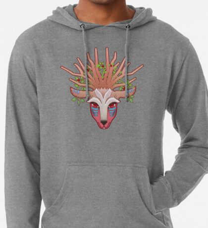 Shishigami, The Forest Spirit Lightweight Hoodie