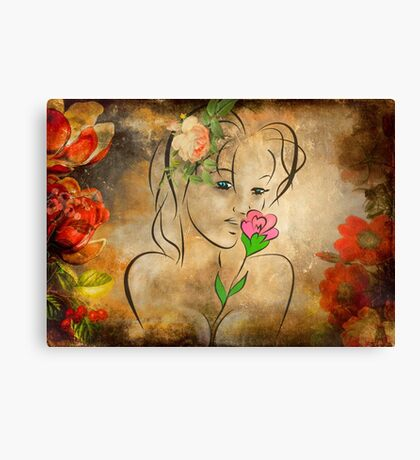 Miss Summer Canvas Print