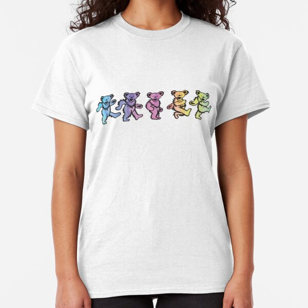 Colorful Dancing Bears Classic T-Shirt