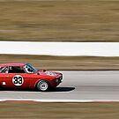 Red Alfa Romeo GTA Mosport Racing by LongbowX