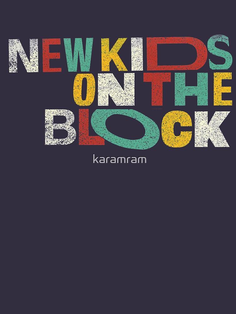Neue Kinder auf der Weinlese blockiert Geschenk von karamram