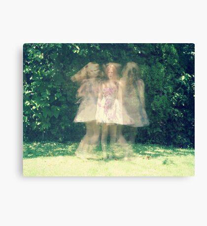 dancing around myself Canvas Print