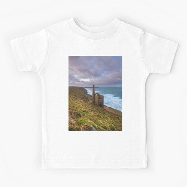 Wheal Coates tin mine Kids T-Shirt