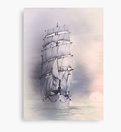 Sea stories 4 ........ Canvas Print