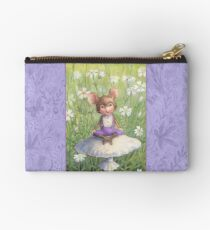 Mosely - cute little mouse-pixie Zipper Pouch