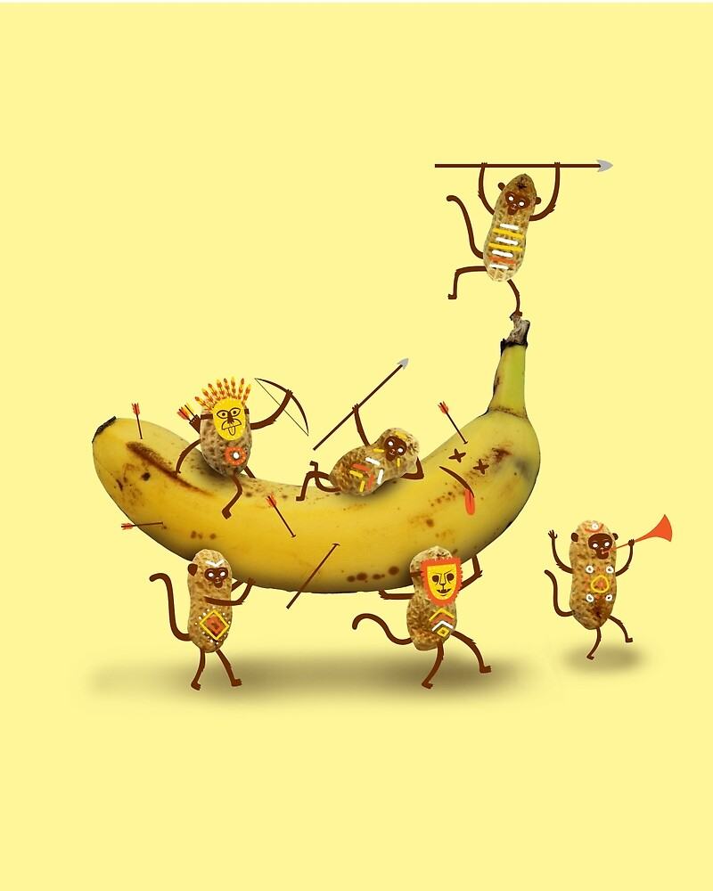 Monkeys are nuts by LordWharts
