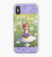 Mosely - cute little mouse-pixie iPhone Case