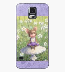 Mosely - cute little mouse-pixie Case/Skin for Samsung Galaxy
