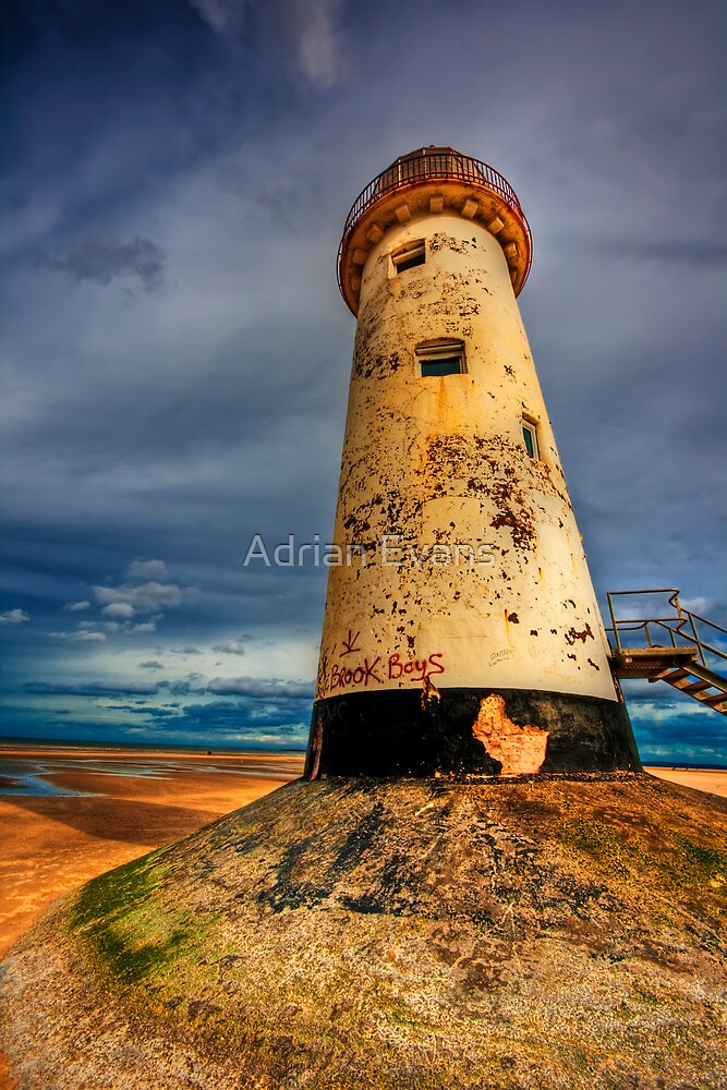 The Lighthouse by Adrian Evans