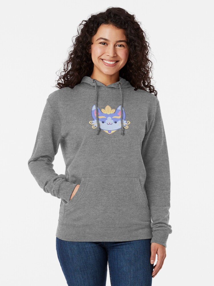 Alternate view of Yuumi - The Magical Cat Lightweight Hoodie